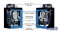 Газовый конденсационный котел Buderus Logano PLUS KB372 75 кВт 0