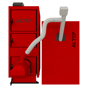 Твердотопливный котел на пеллетах Альтеп Duo UNI Pellet (KT-2EPG) - 75 кВт
