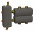Коллектор в комплекте с гидрострелкой ОКС-РР-2-2-К-НГ-і
