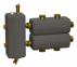 Коллектор в комплекте с гидрострелкой ОКС-РР-6-3-КН-НР-і