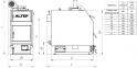 Котел твердотопливный Альтеп TRIO UNI PLUS (КТ-3ЕN) 20 кВт 2
