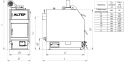 Котел твердотопливный Альтеп TRIO UNI PLUS (КТ-3ЕN) 30 кВт 2
