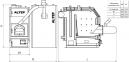Твердотопливный котел на пеллетах Альтеп TRIO UNI Pellet (КТ-3ЕPG) - 20 кВт 2